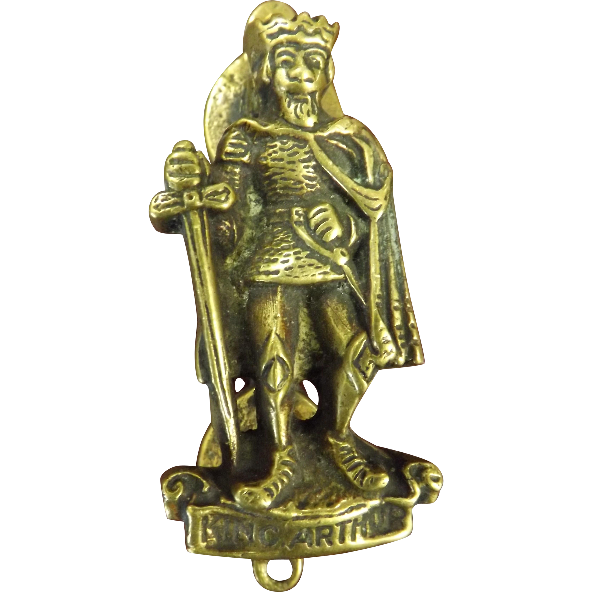 Kind Arthur Small Internal Door Knocker