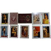 "Cherchez La Femme 1940's ""Nude""s King Size Playing Cards"