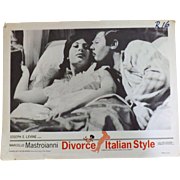 Divorce Italian Syle - Lobby Card