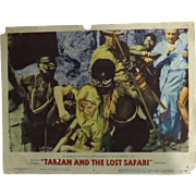 TARZAN and The Lost Safari - 3 Lobby Cards