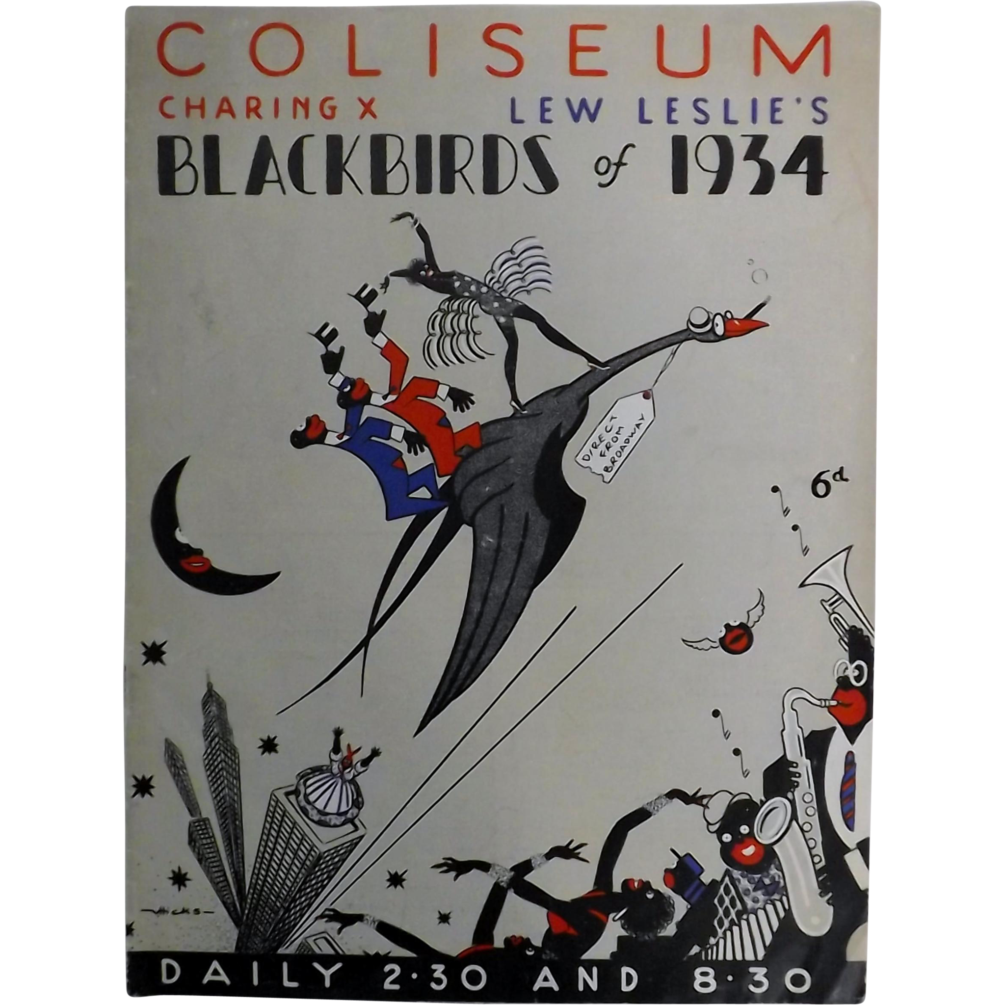 "Theatre Program ""Coliseum"" London 1934"
