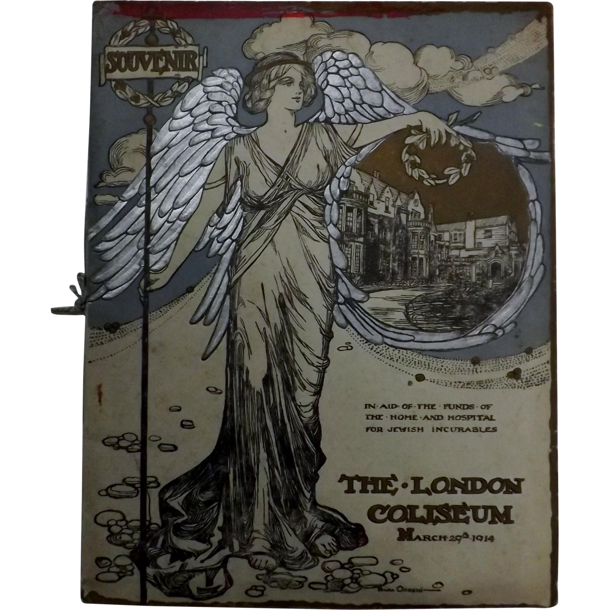 "Theatre Program ""The London Coliseum"" 1914"