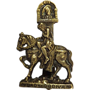 Lady Godiva Door Knocker Circa 1910