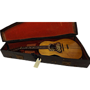 An English Mandolinetto - Edwardian Period Circa 1905