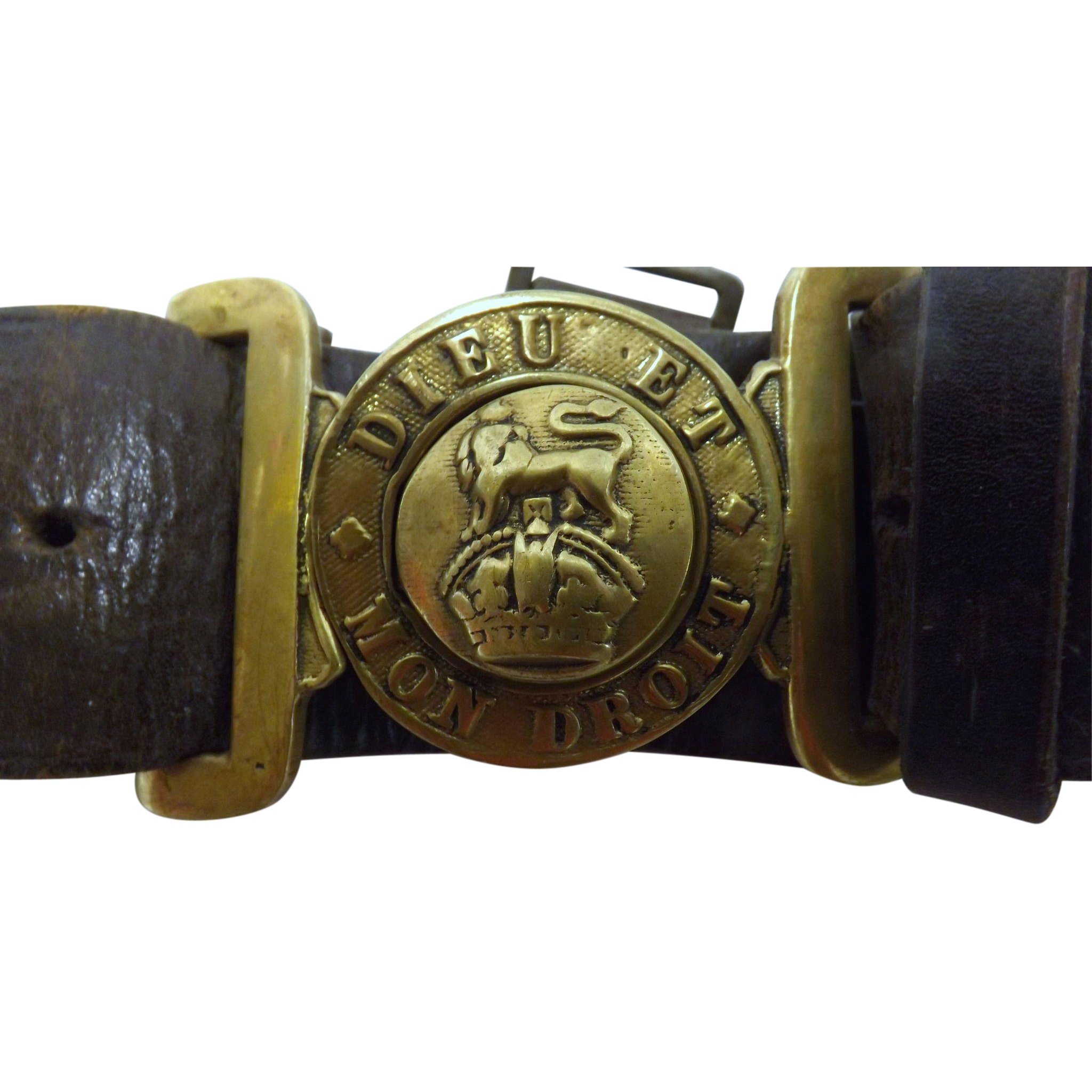British Army Officers WW1 Belt & Buckle