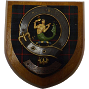 Clan Murray Plaque - Vintage Old Version