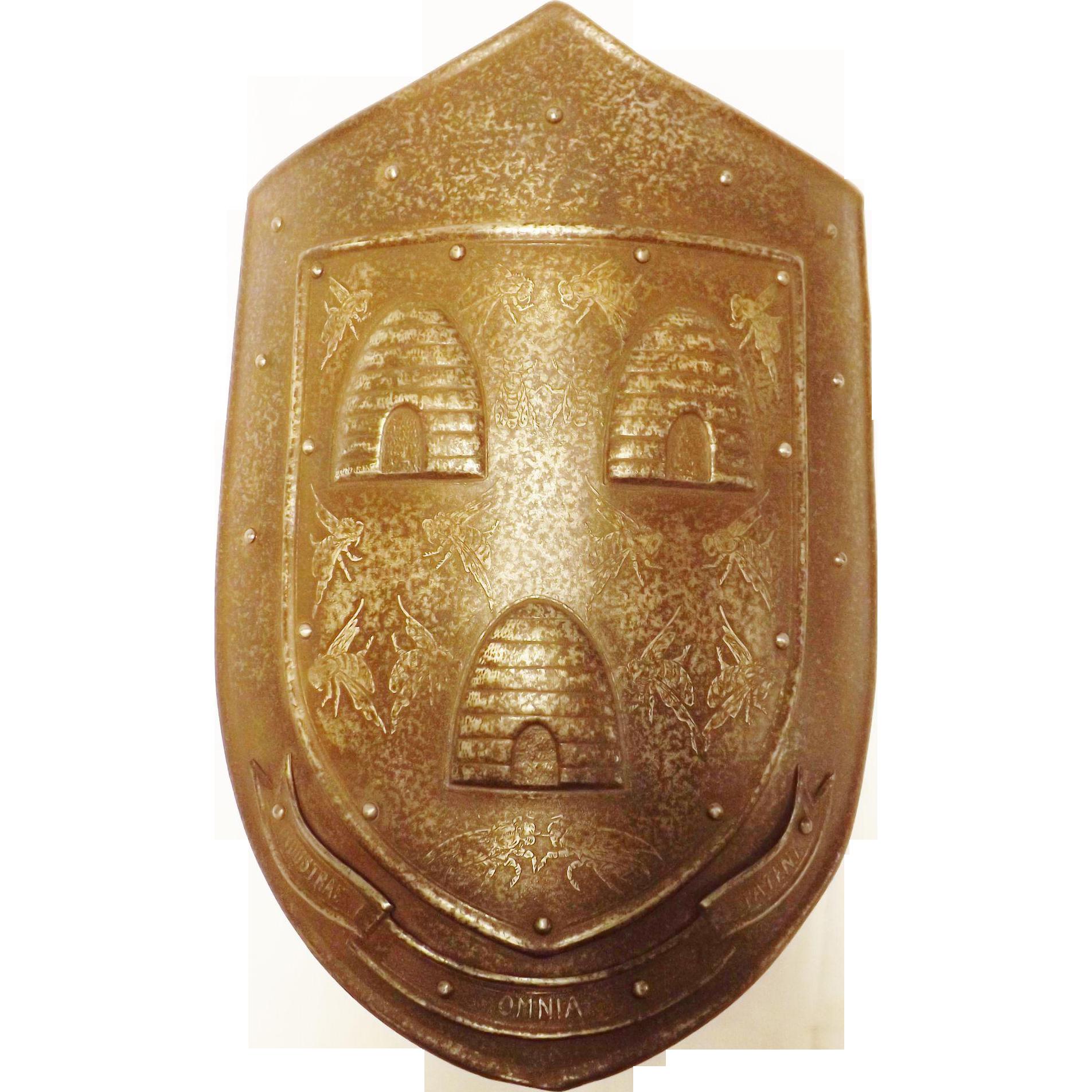 A Steel Heralidic Shield