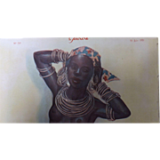 French Depiction Madame Anneau - Sourire Magazine 1931