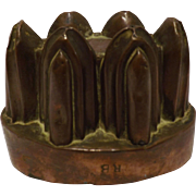 A Georgian Copper Jelly Mold