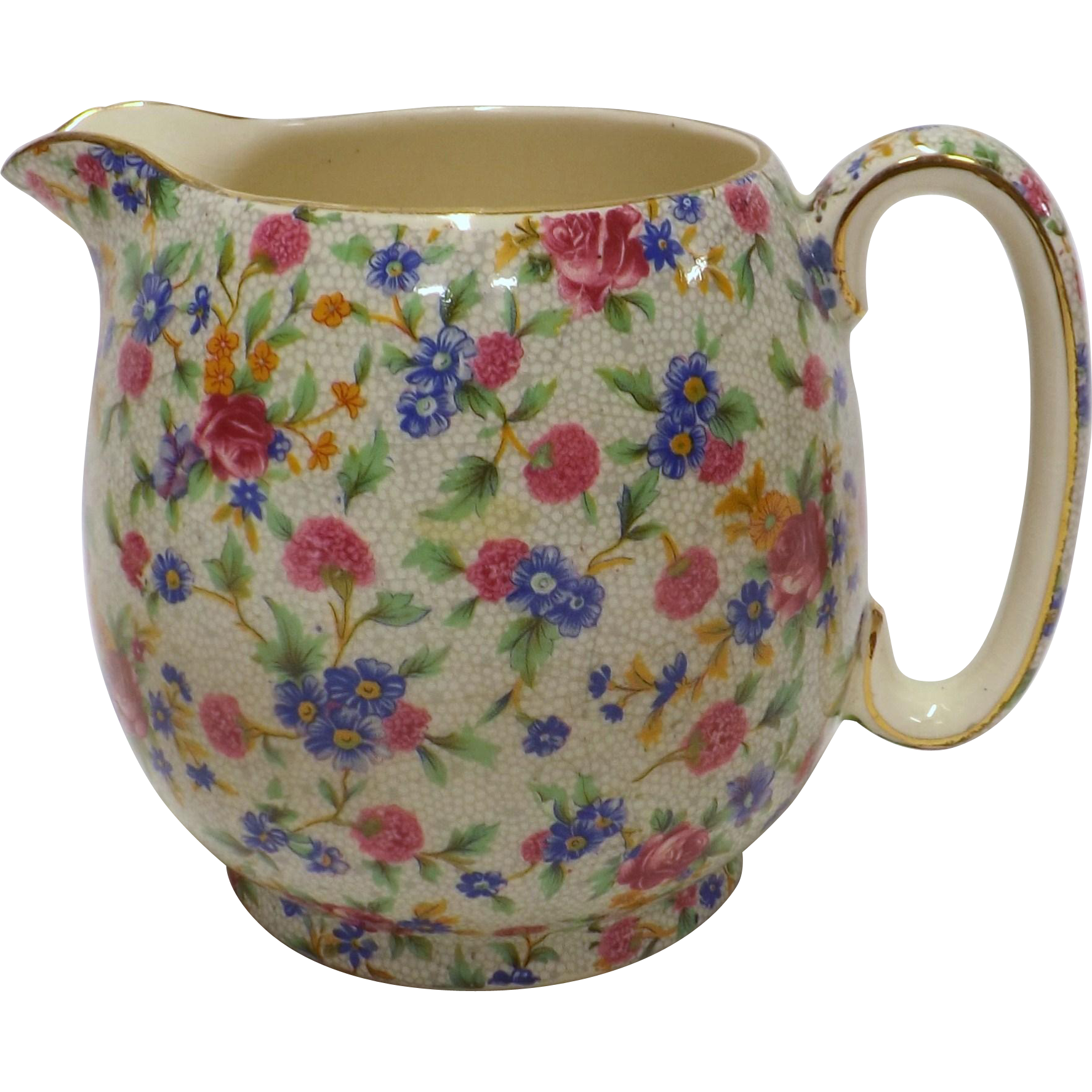 Royal Winton Milk Jug - Old Cottage Chintz