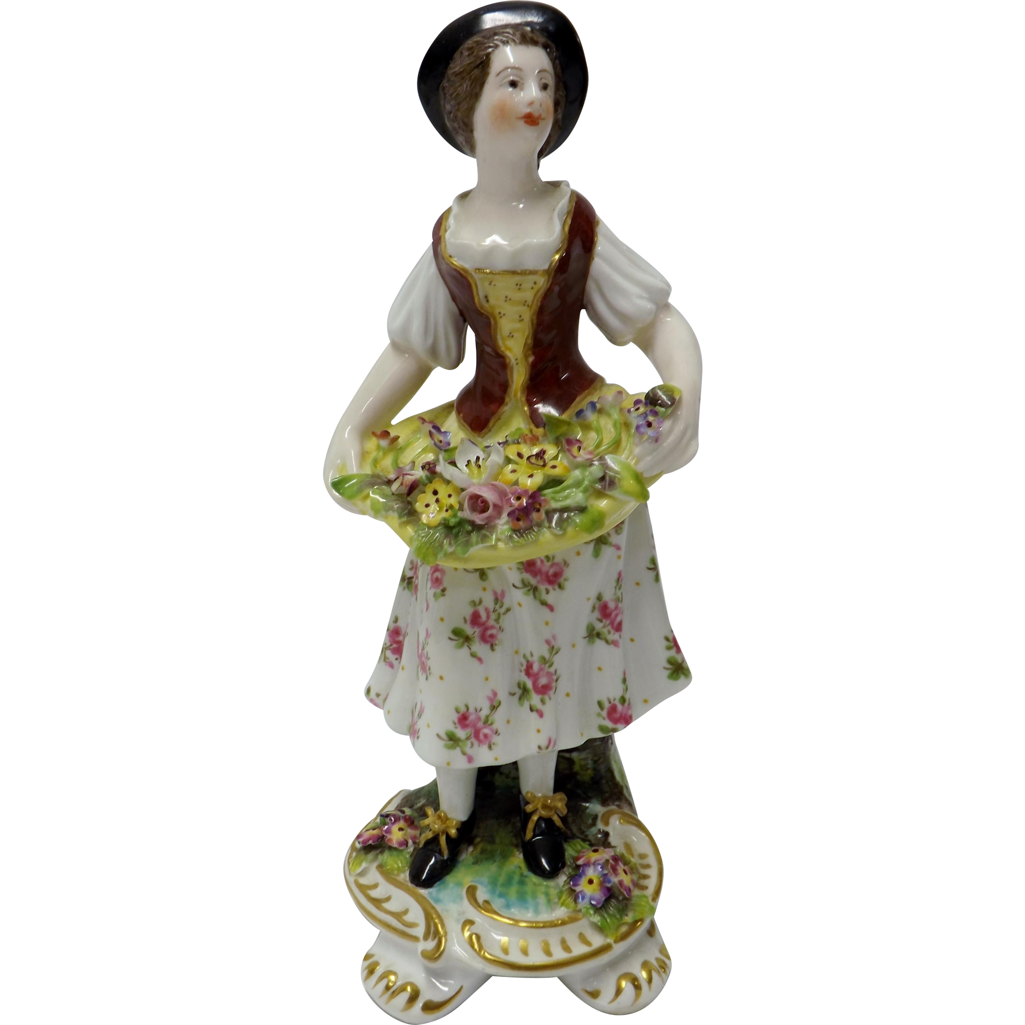 Royal Crown Derby Figurine - Signed H.S. Hancock