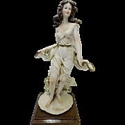 Fabulous Capodimonte Porcelain Figurine - Signed