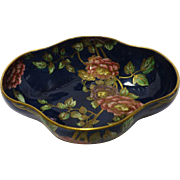 Stunning MALING Lustreware Footed Fruit Bowl - DECO                                                                                                                                                                                          Circa 1930