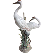 Lladro 'Courting Cranes' 1611