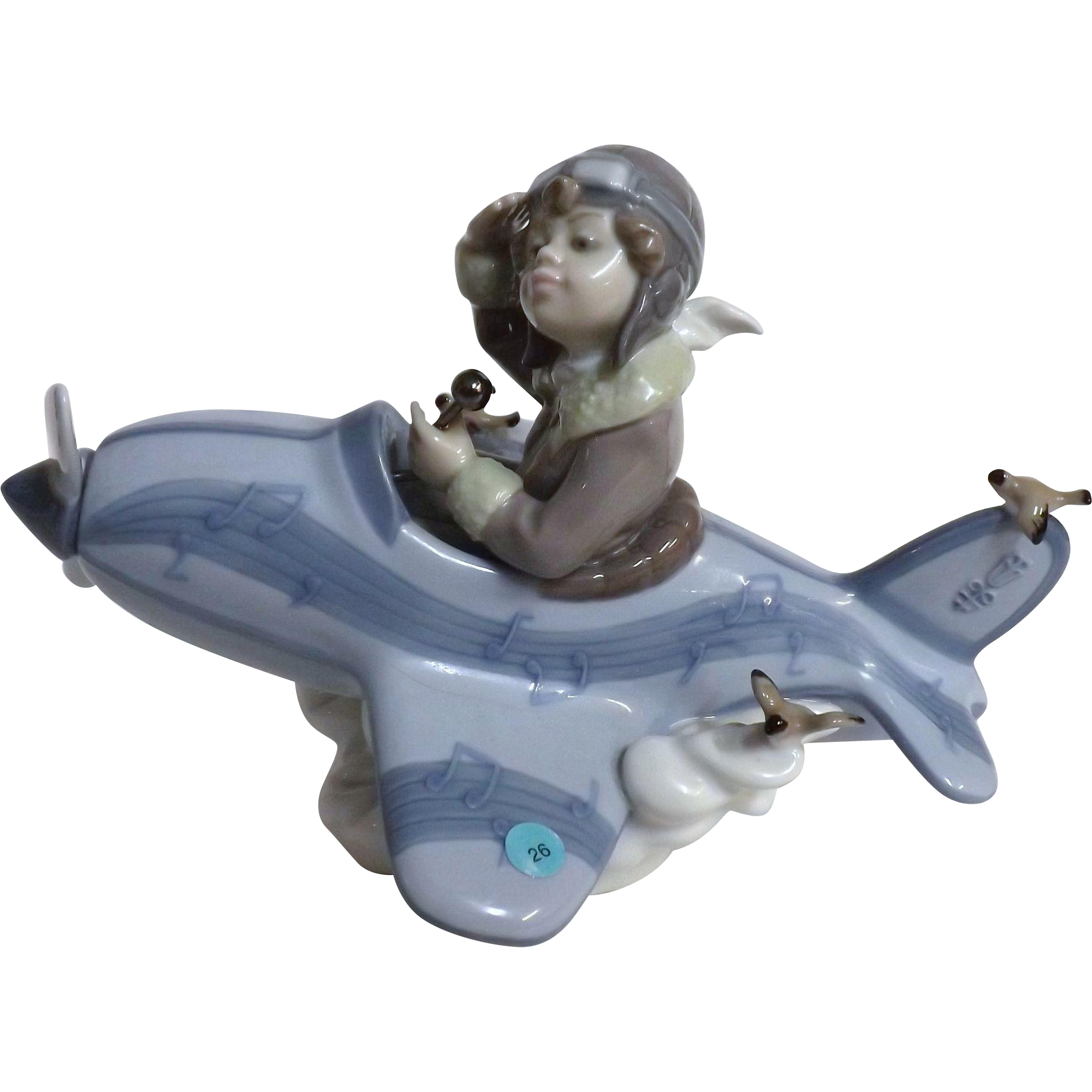 Lladro 'Over The Clouds' 5697