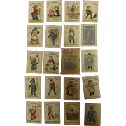 Funny Families - Victorian Children's Playing Cards - SNAP
