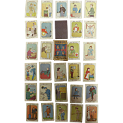 Happy Families Child's Playing Cards - Circa 1920 - 1930