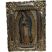Stunning Peruvian 950 High Grade Silver Photo Frame - Circa 1930 - 1940