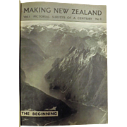 Making New Zealand - Two Volumes By Department of Internal Affairs 1939-1940