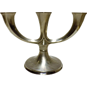 Art Deco Candelabra in 835 Silver By Jakob Grimminger Circa 1930