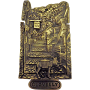 Clovelly Door Knocker - North Devon - England 1923