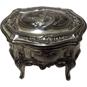 Victorian Ladies Trinket /Jewel Casket