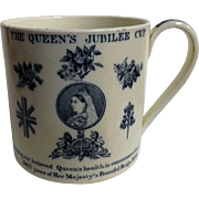 Queen Victoria Jubilee Commemorative Mug  - 1887 50 Years Reign