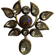 Christian Dior Large Brooch Circa 1970