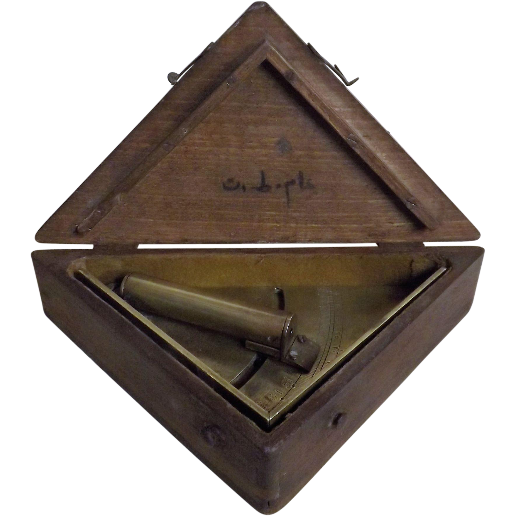 Clinometer / Artillery Range Finder - Turkish World War One