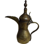 Traditional DALLAH Arabic Coffee Pot - 19th Century