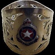 RMS Corinthic Napkin Ring - White Star Line