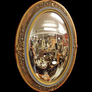 Victorian Oval Convex Wall Mirror