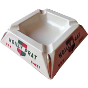 Noilly Prat Vermouth Advertising Ashtray - Circa  1960