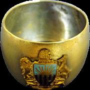 S.S. Orvieto Souvenir Napkin Ring - Orient Steam Navigation Co.