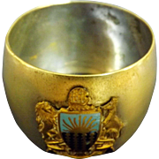 S.S. Orvieto Souvenir Napkin Ring - Orient Steam Navigation Co.