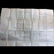 S.S. Otranto Deck Plans  - Orient Line 1929