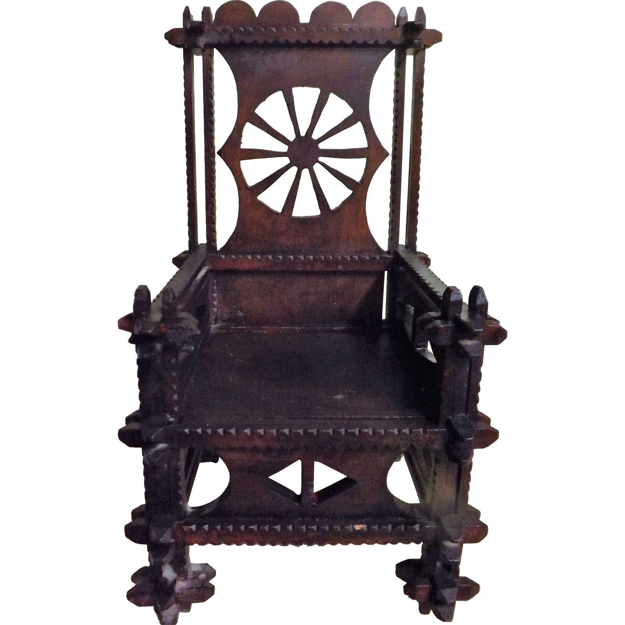 Tudor Gothic Style Model Chair