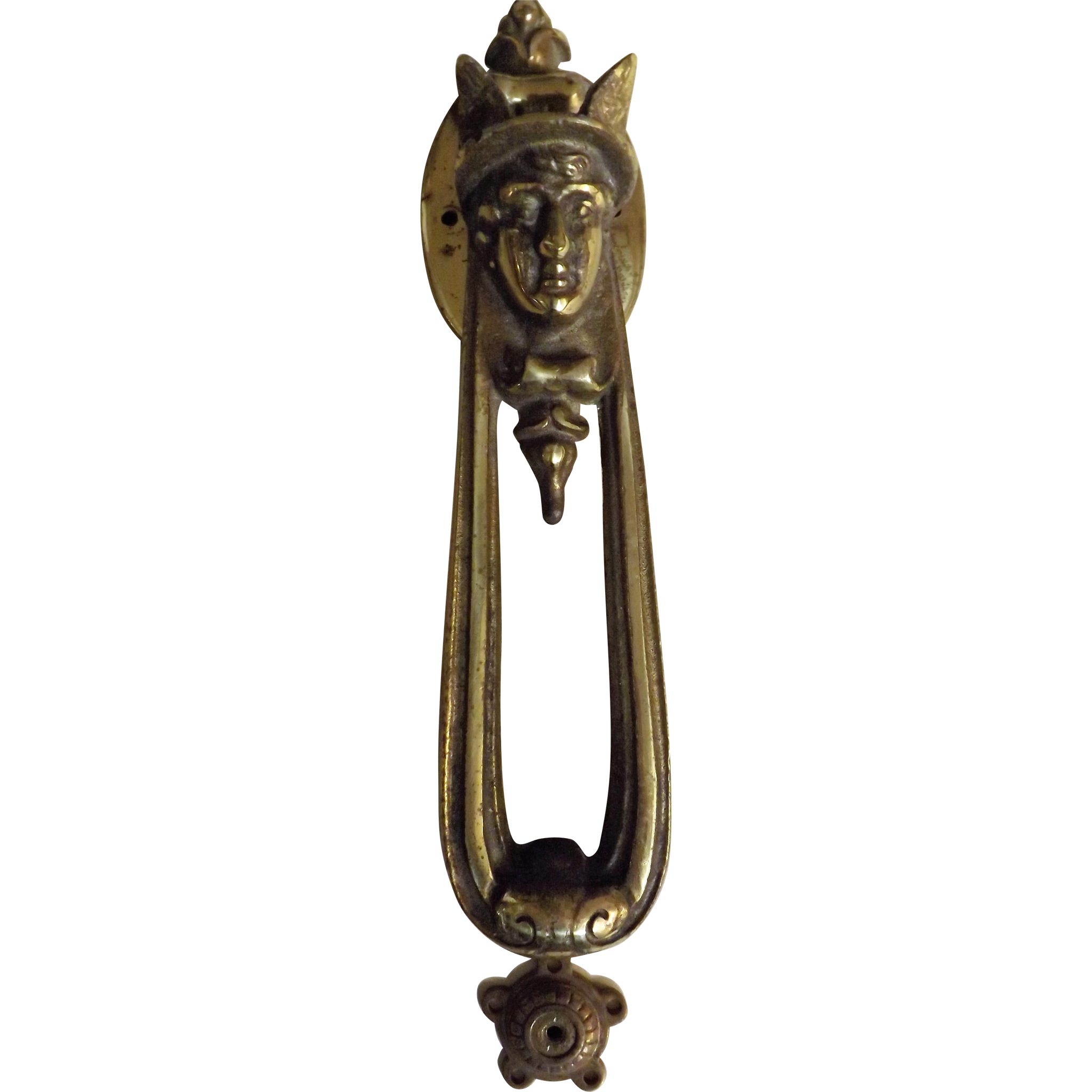 MERCURY Roman God Door Knocker