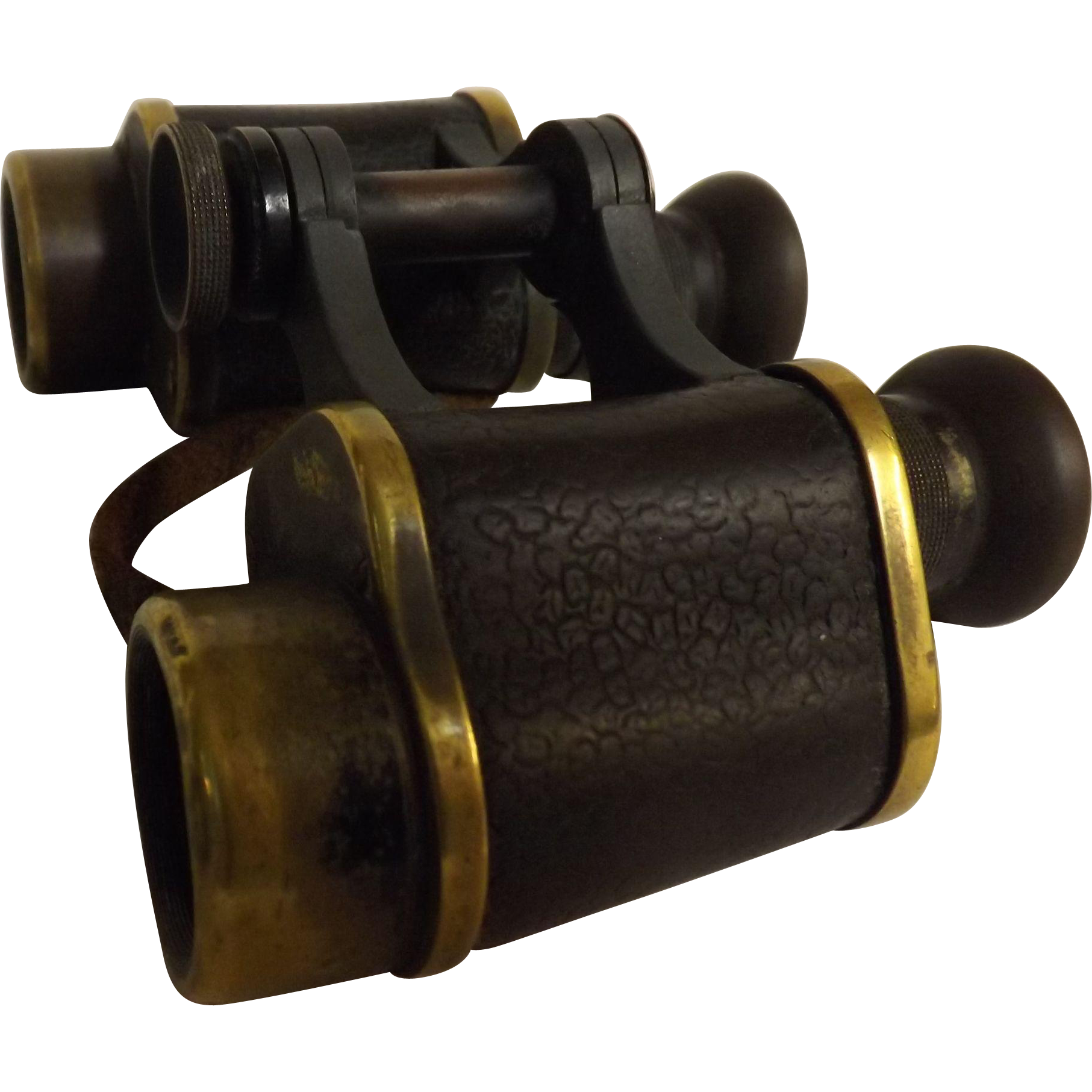 Victorian Stereo Prism Binoculars By Ross of London - Circa 1898-1900