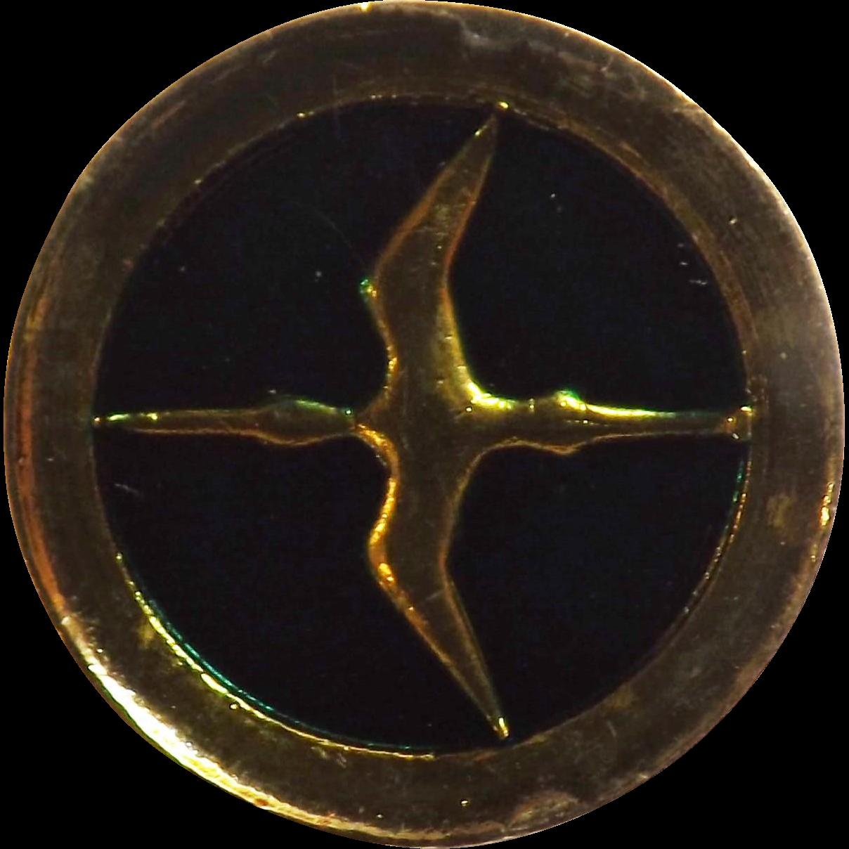 NAC - National Airways Corporation of New Zealand - Stewardess Cap Badge