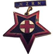 New Zealand Registered Nurses Badge - 1907