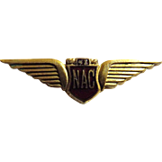 NAC - National Airways Corporation of New Zealand - Pilots Qualification Wings
