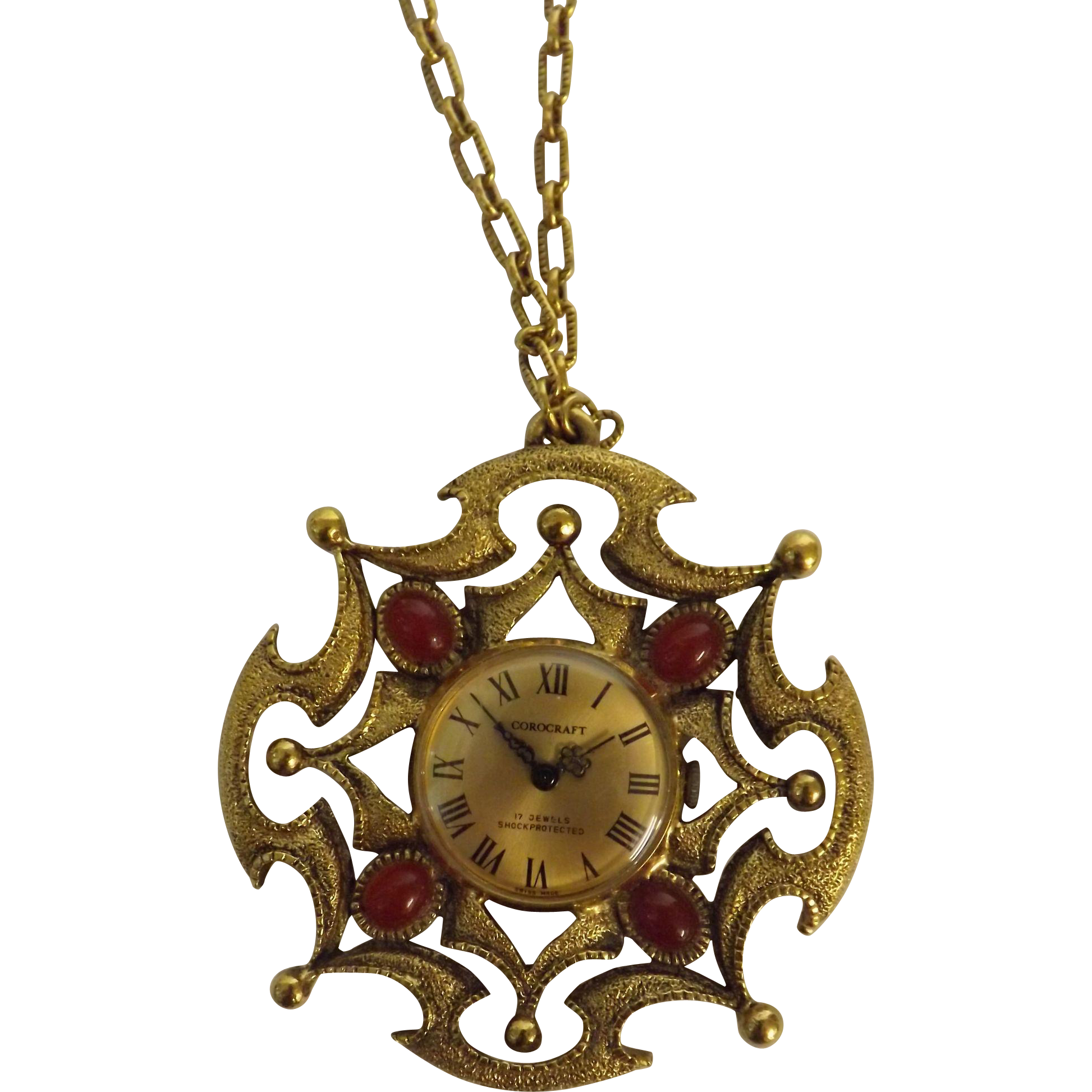 Corocraft 1970's Retro Pendant Watch
