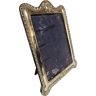 Edwardian Period Sterling Silver Photo Frame