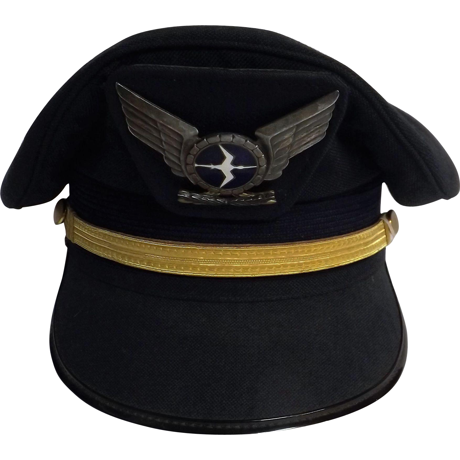 NAC  (National Airways Corporation of New Zealand)  -  Flight Officers Cap