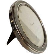 Argentine 925 Silver ART DECO Round Photo Frame