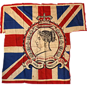 Queen Victoria Jubilee Flag 1837-1897