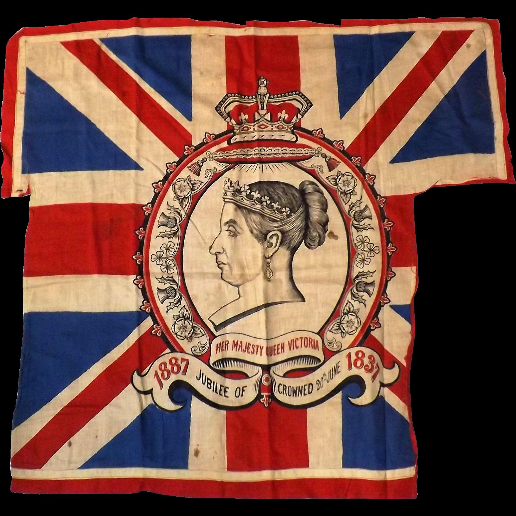 Queen Victoria Jubilee Flag 1837-1897