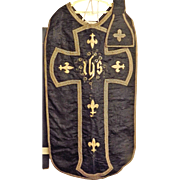 Roman Catholic Chasuble & Manipule - Peru 18th Century