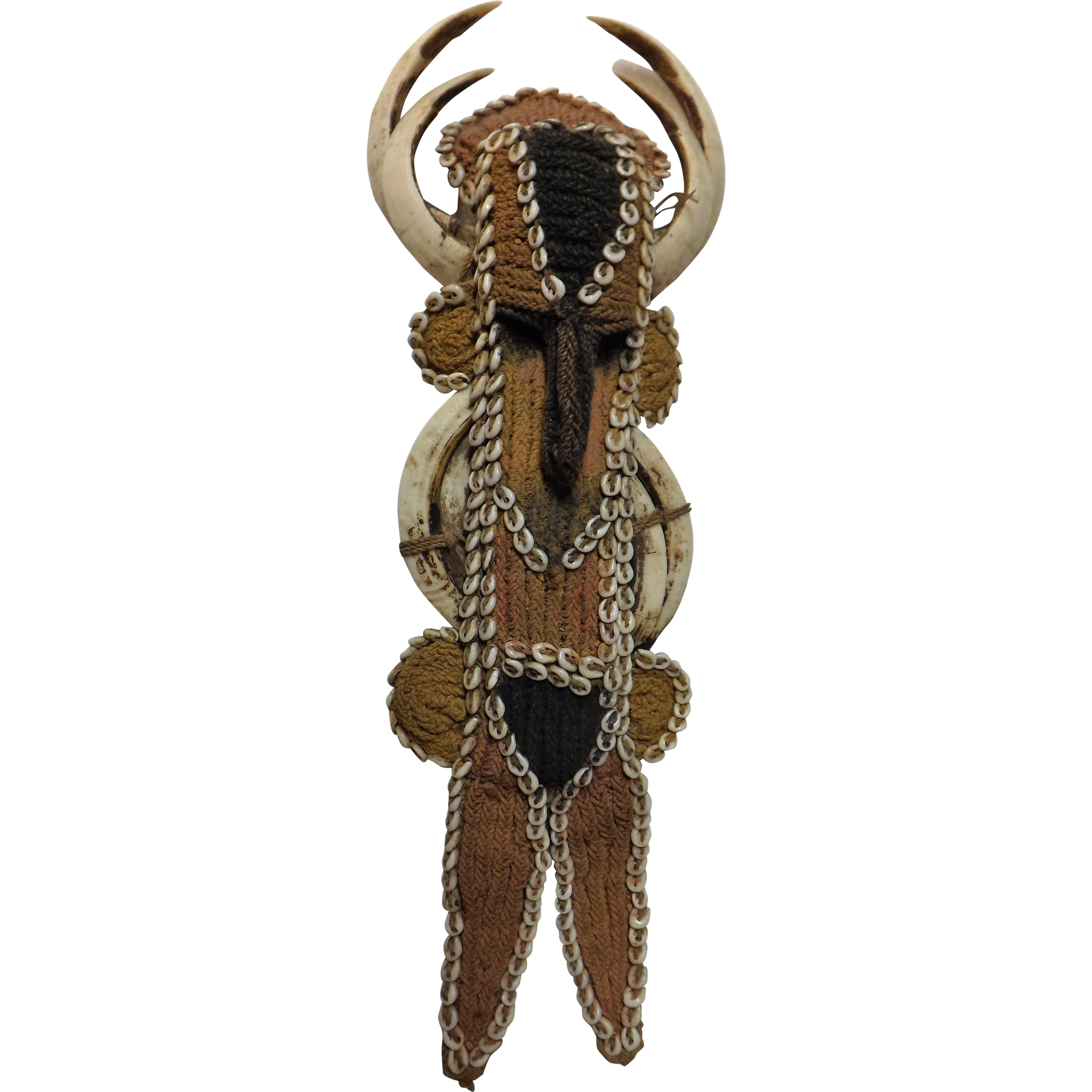 Papua New Guinea Warriors Facial Decorative Piece